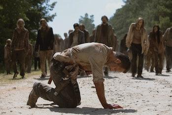 The Walking Dead Three Rings Rick Grimes