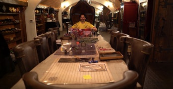 Joe Manganiello in his D&D Dungeon