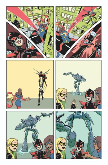 Preview of Wasp #1 for Marvel Comics