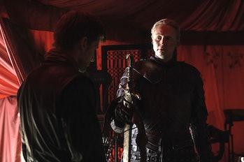 Gwendoline Christie as Brienne of Tarth