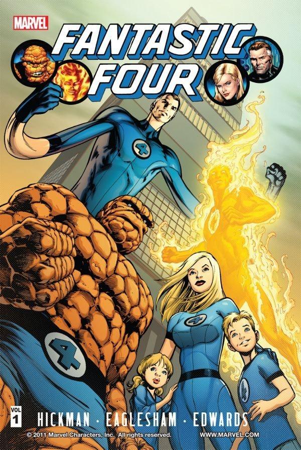 Fantastic Four Jonathan Hickman