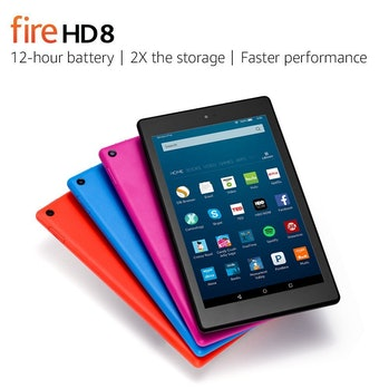 The Amazon Fire HD 8