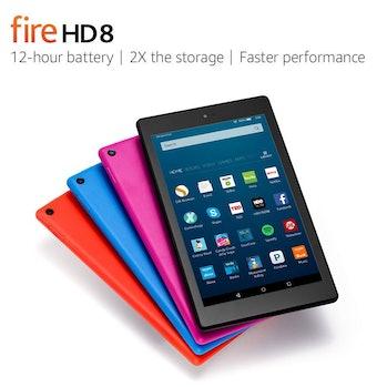 The Amazon Fire HD 8