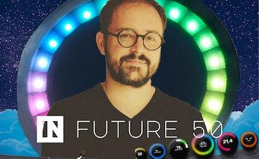 Xavier Peich, Future 50 logo