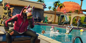 'Fortnite' Loading Screen Pool Party Season 5