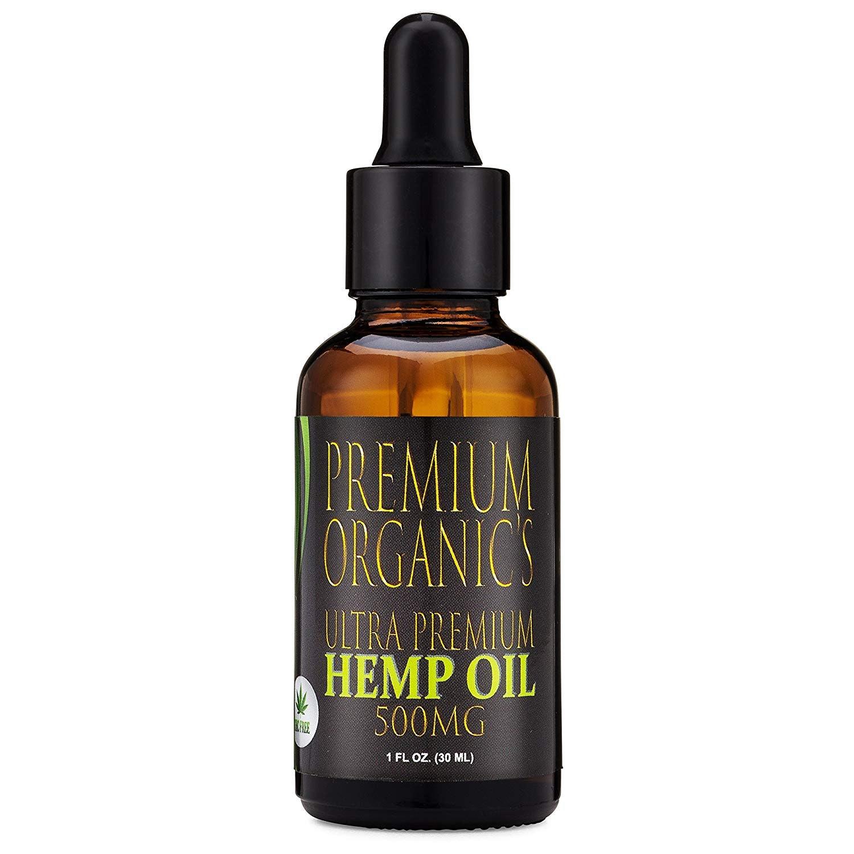Premium Organic's Ultra Premium Hemp Oil