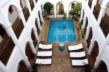 Morocco, hostel
