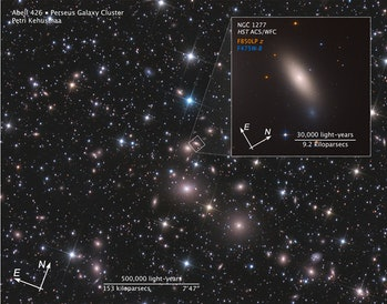 relic galaxy  NGC 1277