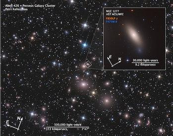 relic galaxyNGC 1277