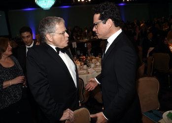 Lawrence Kasdan with J.J. Abrams