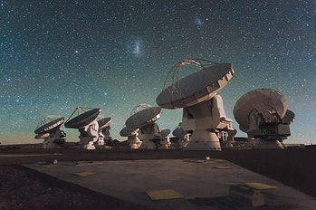 The ALMA observatory in Chile was one of the eight telescopes that imaged the M87 black hole.