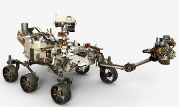 The Mars 2020 rover.