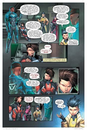 DC Comics Gen:lock