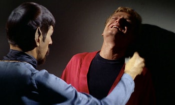"""Evil Spock uses an """"agonizer."""" Thankfully, this technology doesn't exist. Yet."""