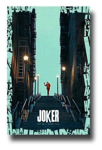Joker Poster 2019 Movie Promo