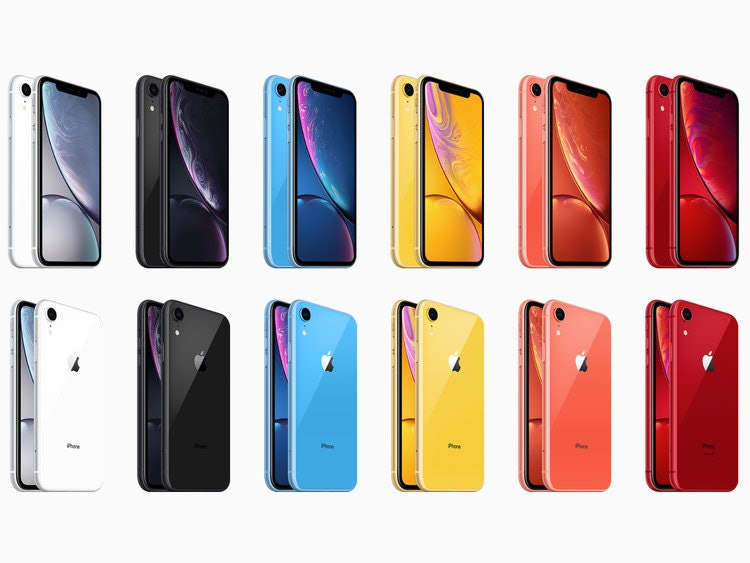 iphone xrcolor options
