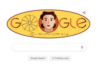 olga ladyzhenskaya google doodle