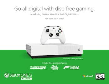 xbox all digital edition