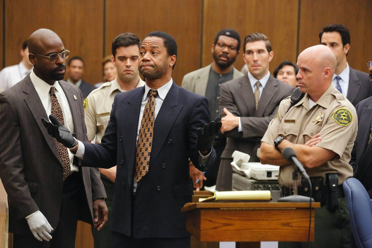 'The People v. O.J. Simpson.'