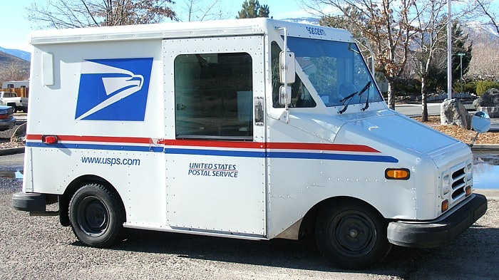 small usps truck