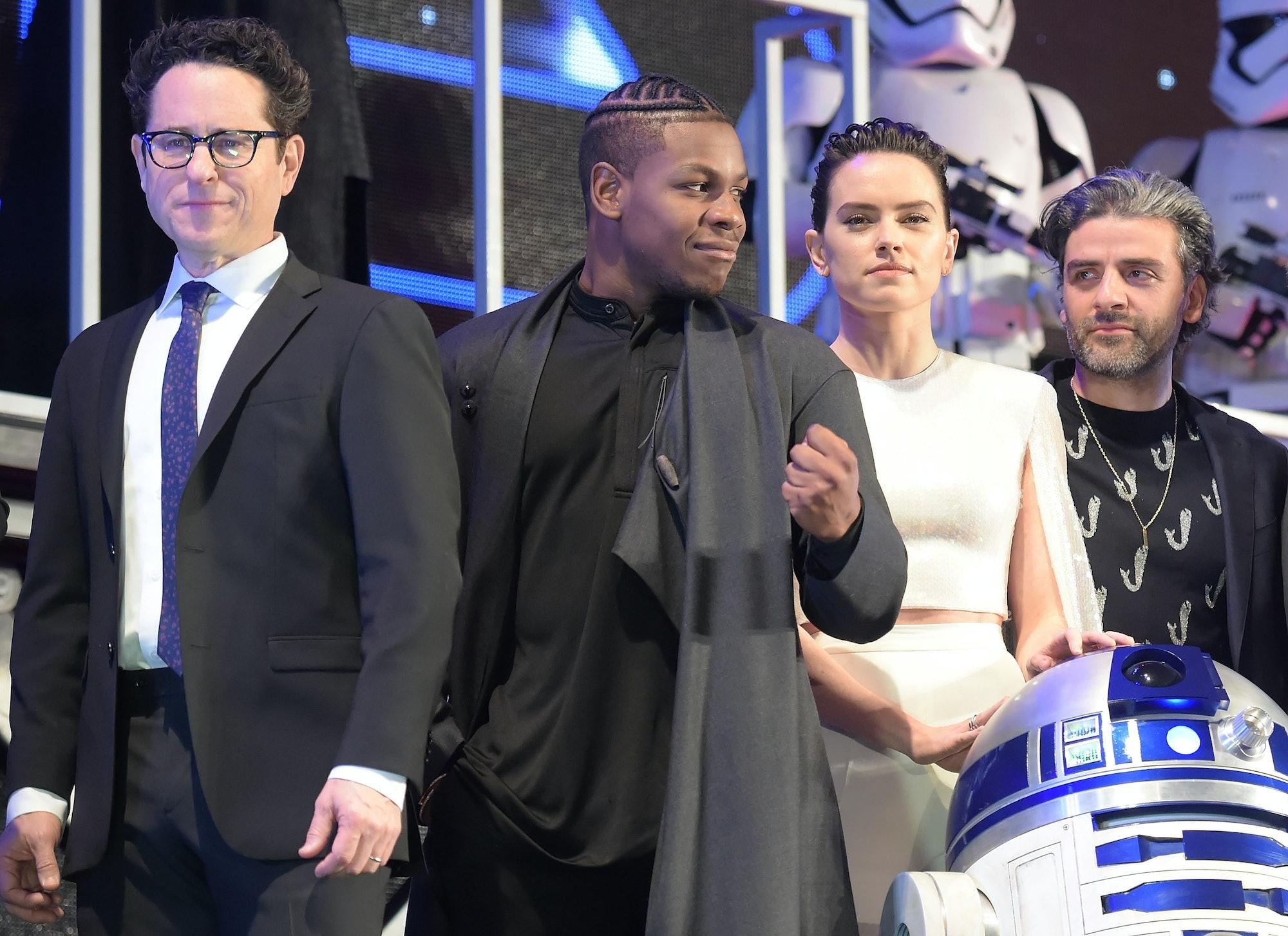 JJ Rise of Skywalker cast tokyo