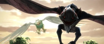 The Son and Daughter of Mortis in their creature forms during 'The Clones Wars.'