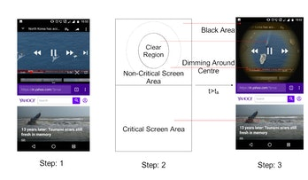 Battery life AndroidMulti-Window Operations on OLED Smartphones