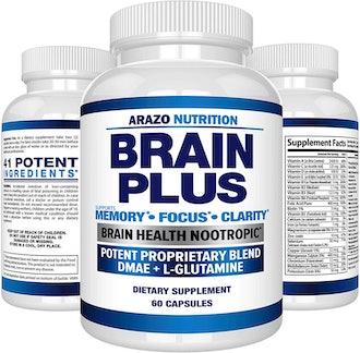 Azaro Nutrition Brain Plus