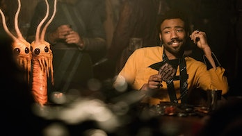You don't need two heads and more than eight eyes to see what's going on in 'Solo: A Star Wars Story'.