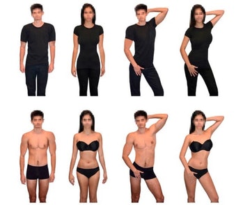 sexualized poses objectification