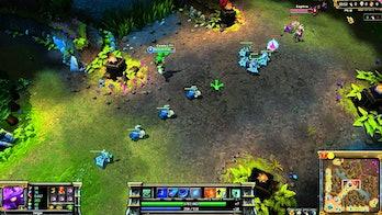 Farming in League of Legends