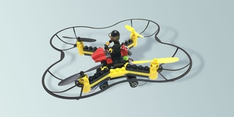 Force Flyers DIY Building Block Fly 'n Drive Drone
