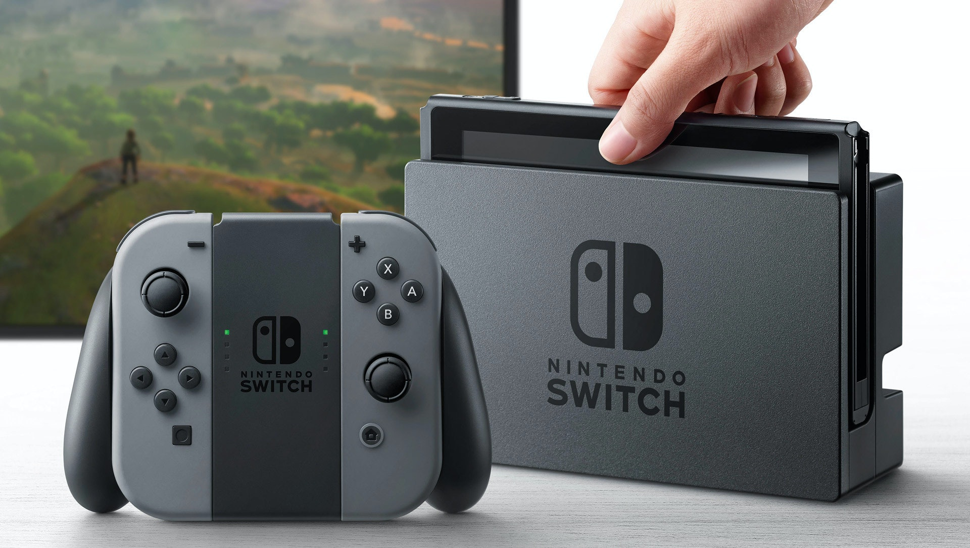 Nintendo Switch home hybrid console by Nintendo