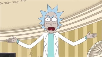 'Rick and Morty' Doctor Who