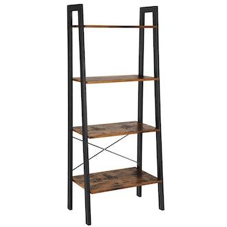 VASAGLE Vintage Ladder Shelf