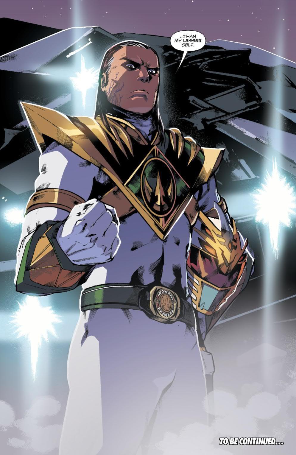 Power Rangers Lord Drakkon White Ranger