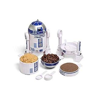 ThinkGeek Star Wars R2D2 Measuring Cup Set