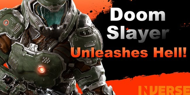 smash bros ultimate roster doomguy