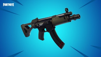 fortnite submachine gun tactical smg