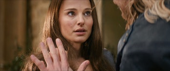 Jane and Thor were seemingly reunited for good in 'The Dark World', but that didn't last long.