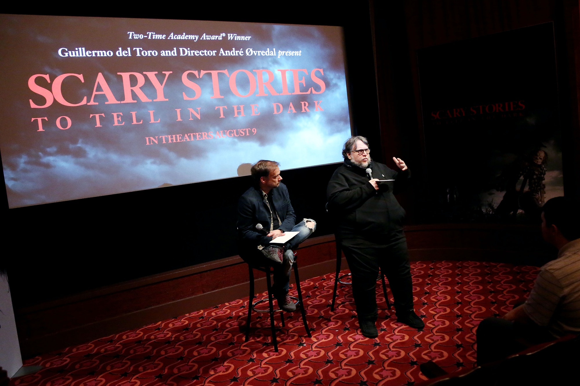 Scary Stories to Tell in the Dark Guillermo del Toro