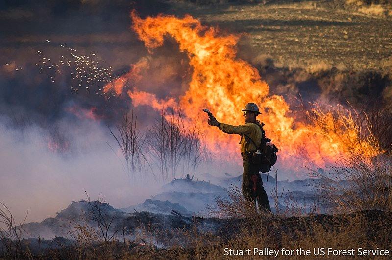 Thomas Fire, wildfire, California