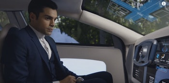 Ben Larson and his self-driving car in 'Incorporated'