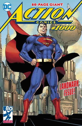 Jim Lee Action Comics Superman Cover