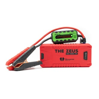 The Zeus - Power Bank + Car Battery Jump Starter