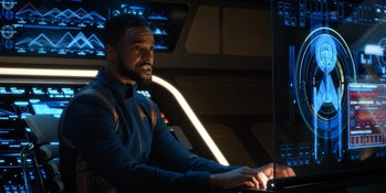 Ronnie Rowe Jr. as Bryce in 'Star Trek: Discovery.'