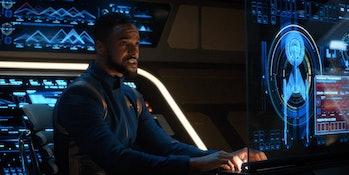 Ronnie Rowe Jr.as Bryce in 'Star Trek: Discovery.'