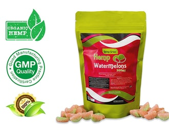Living Green Hemp Watermelon Gummies