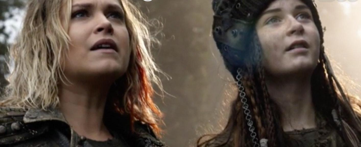 Clarke in 'The 100' Season 4