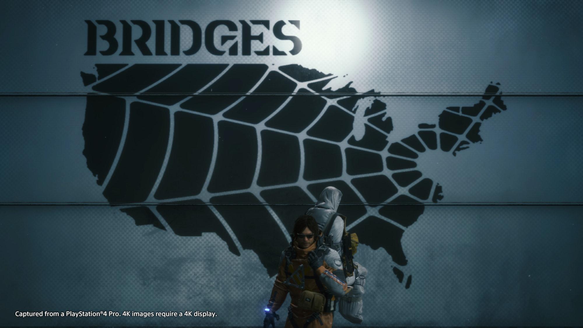 death stranding sam bridges map